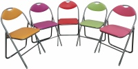 Colourful Folding Chairs