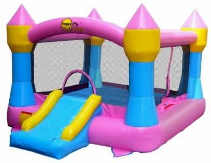 The Large Pink Bouncer and Slide