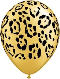 Leopard Balloons - 5 Pack