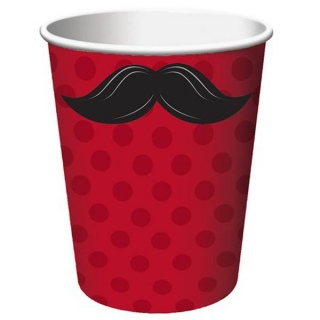 Moustache Madness Cups
