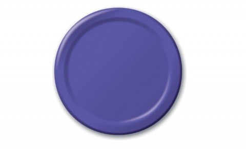 Purple Lunch Plates