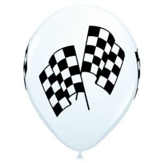 Race Day Balloons - 5 Pack
