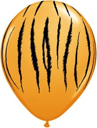Tiger Balloons - 5 Pack